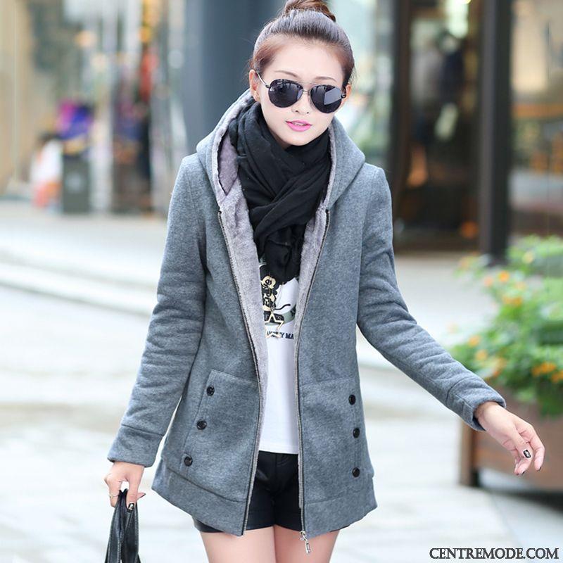 Manteau d'hiver tres chaud femme pas cher