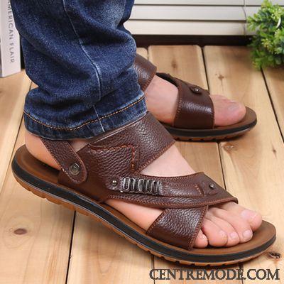 acheter populaire 50% de réduction marque célèbre Sandales Chaussure Homme Blé Marine, Chaussures Homme ...
