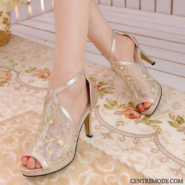 nouvelles photos inégale en performance chaussure Escarpin A Bride Vente Violet Gris, Escarpin Noir Talon 7 Cm ...