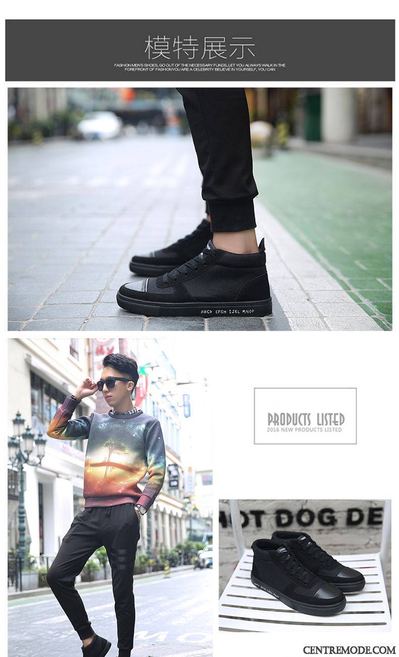 Soldes Chaussures Homme Skate, Bottines Homme Talon Plat