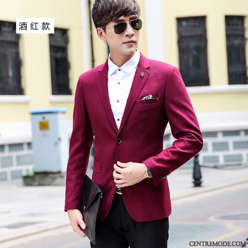 Blazer Pour Saumon Gris Blanc Homme Chaussure Costume qwaZCqr