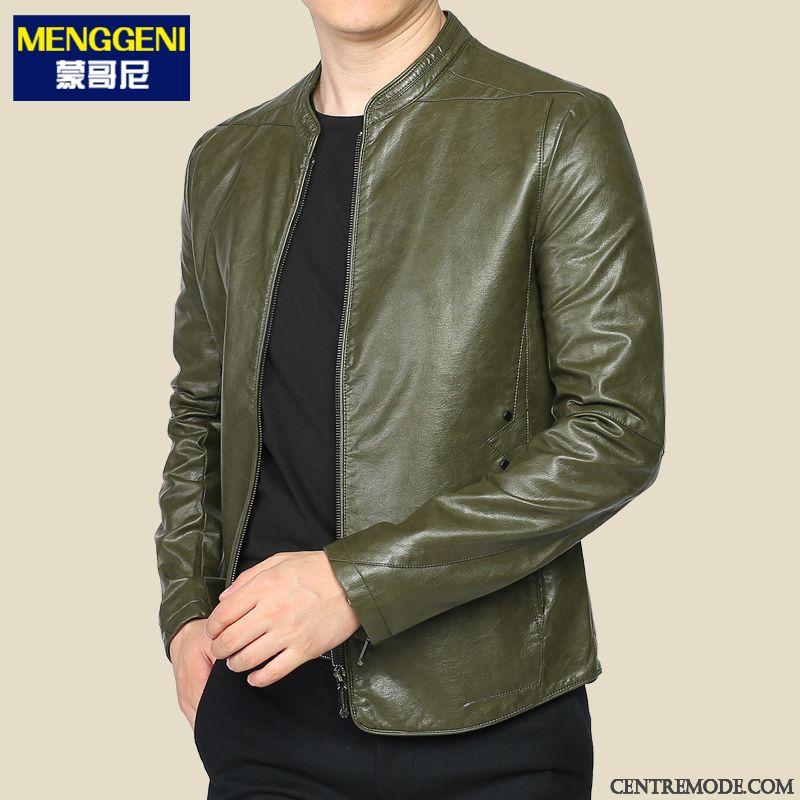 online retailer eff56 462b0 Blouson-En-Cuir-Homme-Violet-Marron-Blouson-Homme-Solde-Soldes-7589.jpg