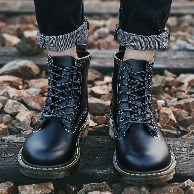 VenteBottes Boots En Homme Marron De Homme Marque Cuir VMjUzpLqSG