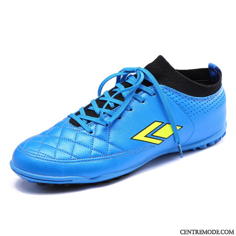 Chaussures Foot Soldes Pas Cher, Chaussures Hommes Marques Bleu Marin Jaune