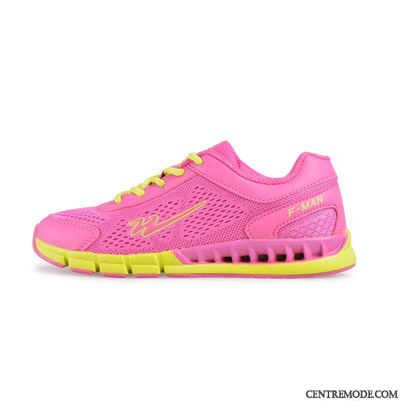 25d12c179aa6ee Chaussures Tennis Femme Soldes Bronzer Seashell, Chaussure De Running Rose  Pas Cher Soldes