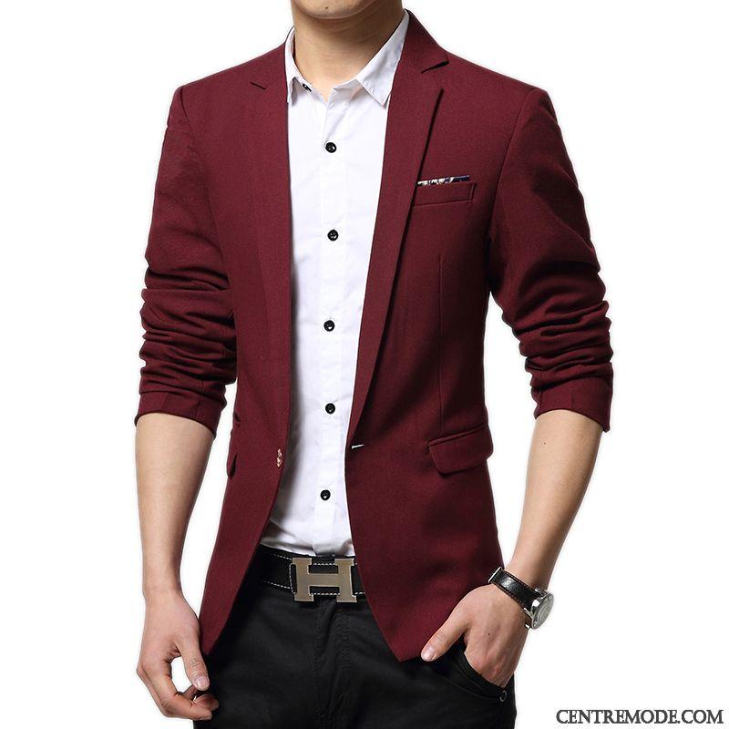 Costume Moderne Homme Blanc Rose 325016792e6