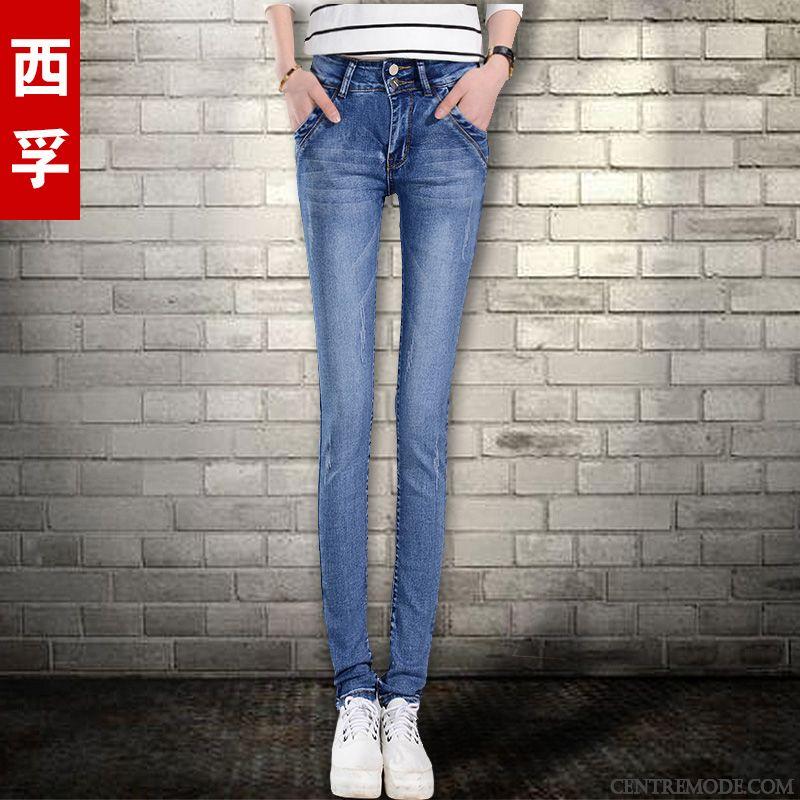 396ef5e1d5 Jean Taille Haute Pas Cher Neige Blanc, Slim Noir Femme Pas Cher