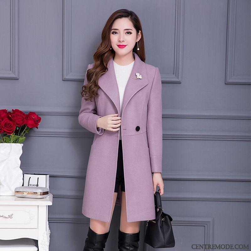 Manteau gris femme printemps