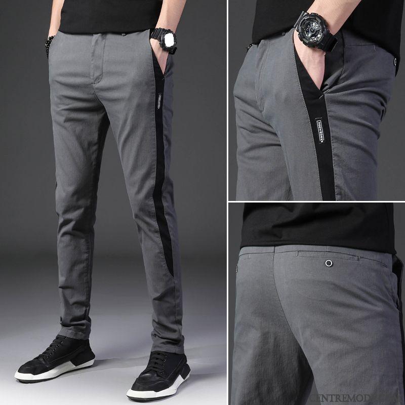 regarder belle et charmante mode la plus désirable Pantalon Toile Homme Beige Aigue-marine Blé, Pantalon À ...