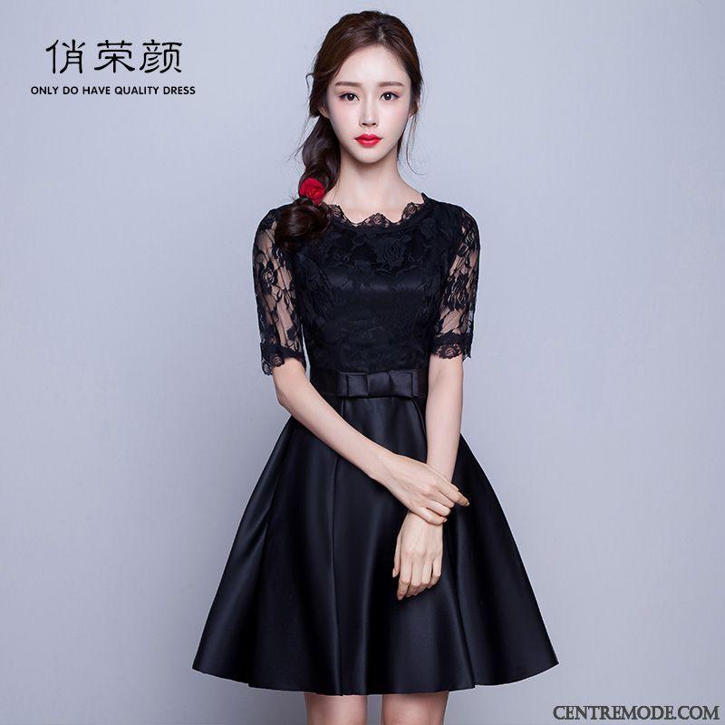 Robe noire pas cher femme