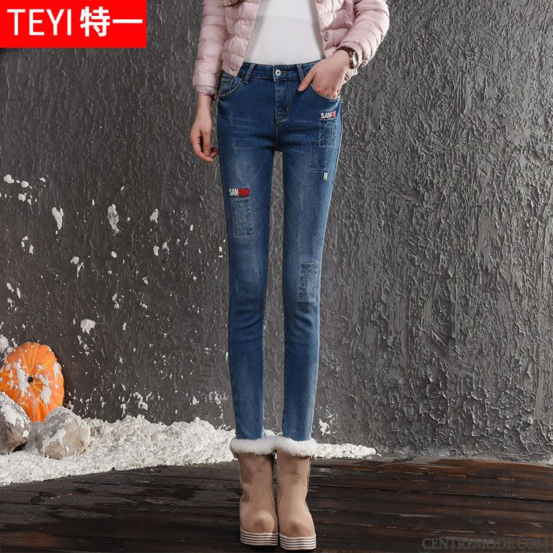 Slim Jeans Femme Pas Cher Rubine Tout Noir, Jean Slim Taille Basse 14c51aafe248