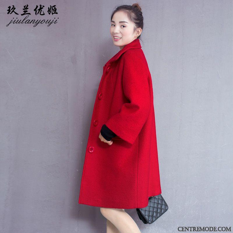 Femme Courte Bleu Rouge Manteau Veste Vert Promotion qUOEv