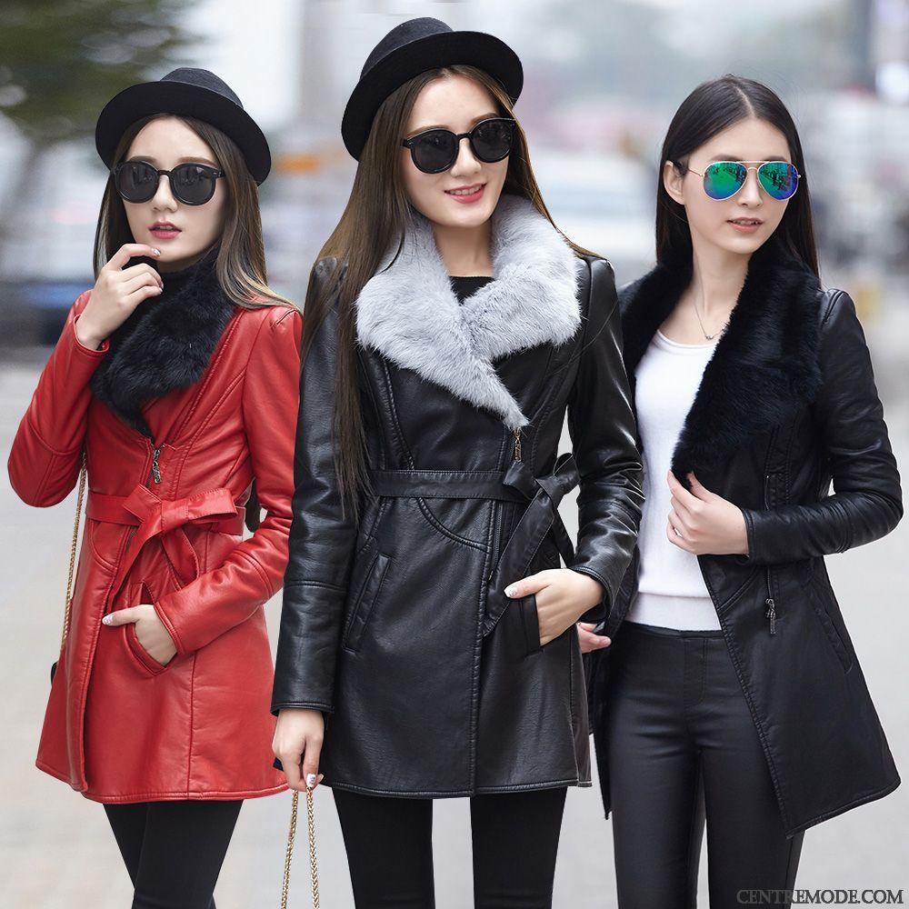 Moto Cher Cuir En Pas Marron Veste Femme Blouson 0PwdxX